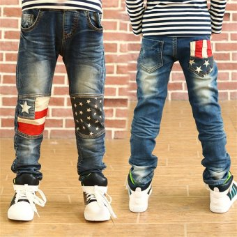 Kids Big Boys Jeans Spring Casual Pants for Children Boys Denim3-12 Years Price Philippines
