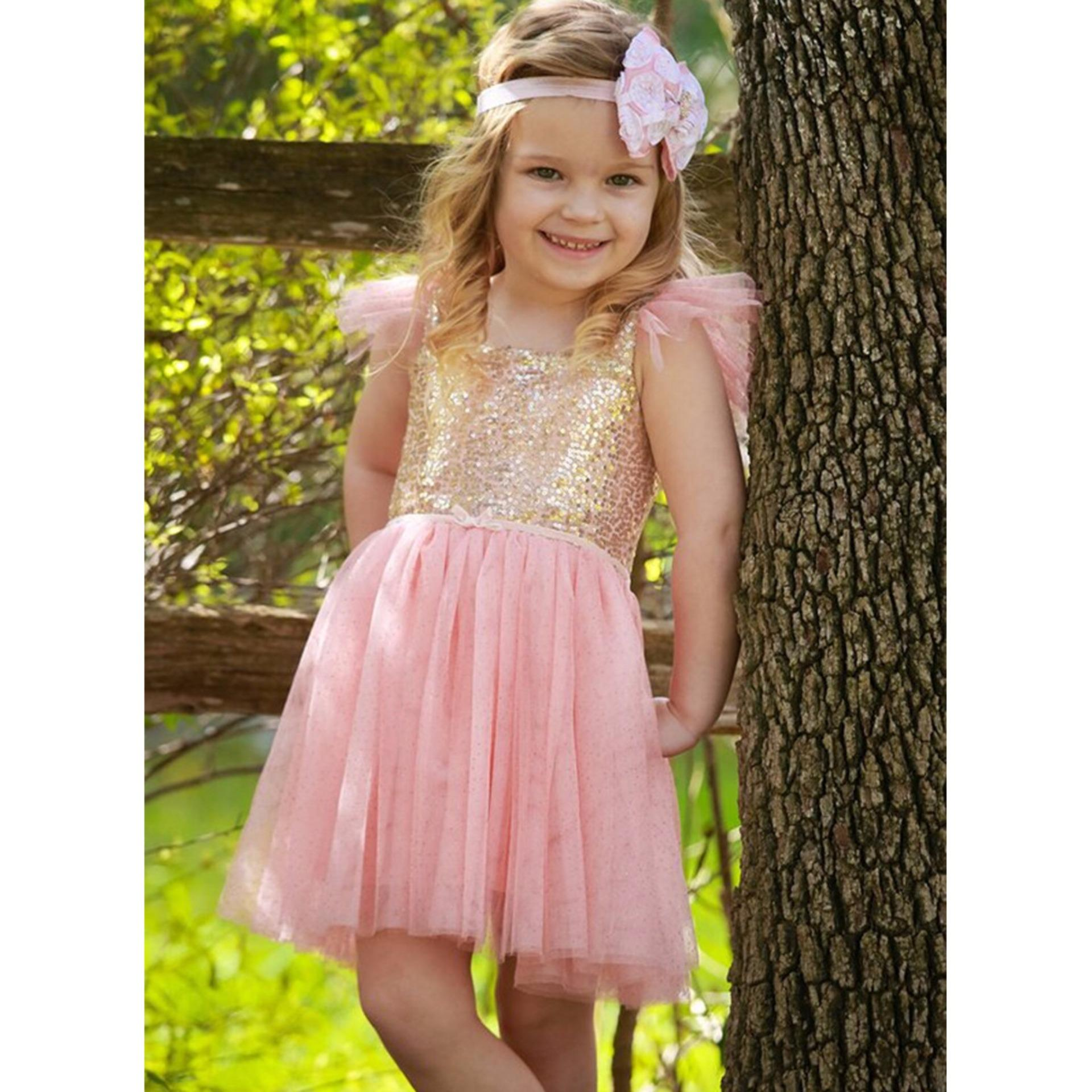 Philippines | Kids Birthday Party Dress Princess Tutu Dress Flower ...