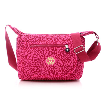 Kipling style fashion Crossbody Shoulder Bags Casual Daily Bags Travel Messenger Bags (red)