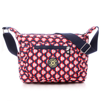 Kipling style fashion Crossbody Shoulder Bags Casual Daily BagsTravel Messenger Bags (red)