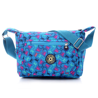 Kipling style fashion Crossbody Shoulder Bags Casual Daily BagsTravel Messenger Bags (sky blue)