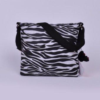 Klpllng Fashion Women nylon Inclined shoulder bag messengerbag(black) - intl - 4