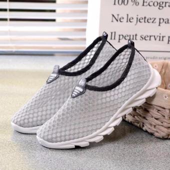 Korea Fashion Breathable Mesh Casual Sport Shoes - 3