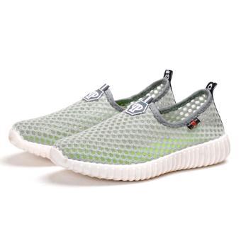 Korea Fashion Breathable Mesh Casual Sport Shoes - 2