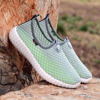Korea Fashion Breathable Mesh Casual Sport Shoes - 4
