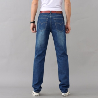 Korea New Face Look Men's Designer Jeans Casual Denim Mens PantFashion Trousers - intl - 2