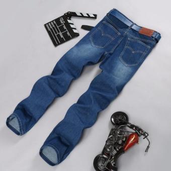 Korea New Face Look Men's Designer Jeans Casual Denim Mens PantFashion Trousers - intl - 4