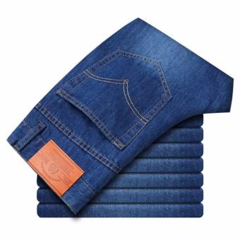 Korea New Face Look Men's Designer Jeans Casual Denim Mens PantFashion Trousers - intl - 5