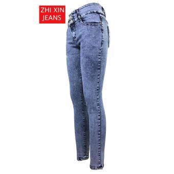 korea Women's Classic Skinny Jeans (911-51) - 3