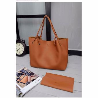 Korean custom leisure loose bag (brown) Price Philippines