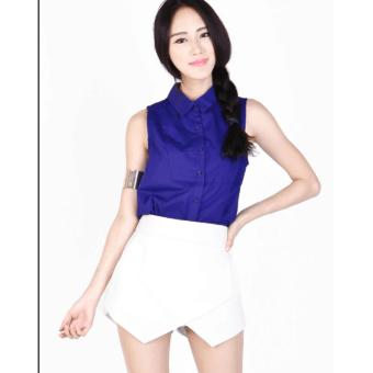 Korean Origami Shorts Asymmetrical Shorts Fashion Shorts - 4