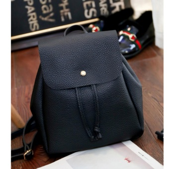 Korean Simple Leather Small Backpack School Bag Casual Bag Price Philippines