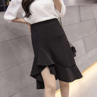 Korean-style female autumn New style skirt fishtail skirt
