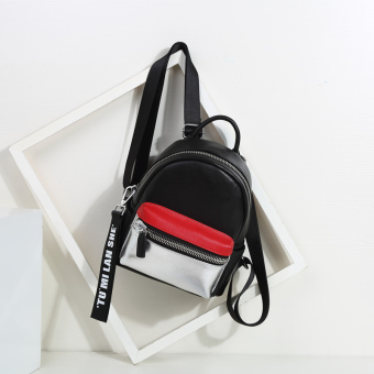 Korean-style female New style contrasting color Shinebager mini shoulder bag