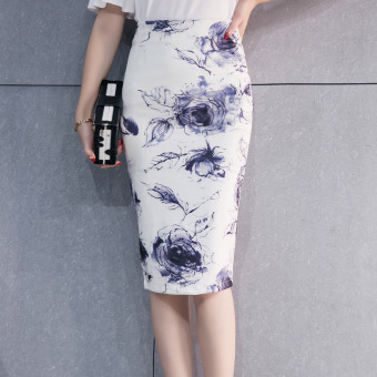 Korean-style female spring and summer New style one-step Skirt