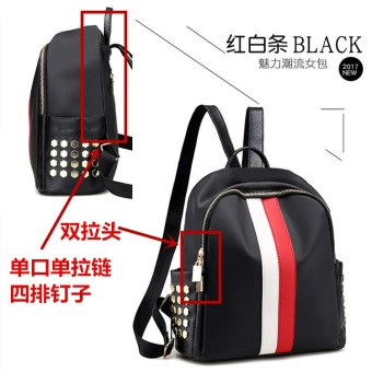 Korean-style female travel bag waterproof shoulder bag (Single lipstick give away Bear to send sachet shipping insurance card holder or small mirror)