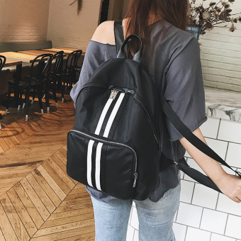 Korean-style nylon cloth female New style school bag backpack Oxford Cloth shoulder bag