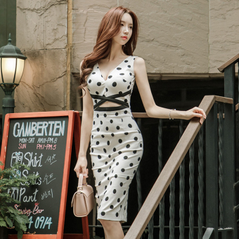Korean-style summer New style Women's one-piece dress