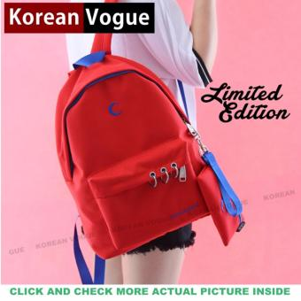 KOREAN VOGUE KV7002 Women Backpack Ladies Set Bag (Red)