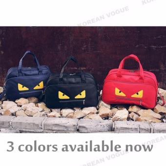 Korean Vogue TB-007 Premium Quality Women Large Capacity Big Eyes Tote Bag Series Ladies Travel Gym Sport Handbag Shoulder Bag(Black) - 2