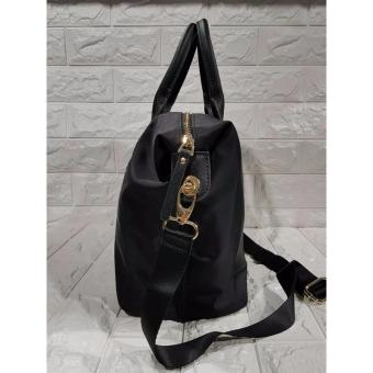KS Lyla Nylon Tote Bag - Black - 3
