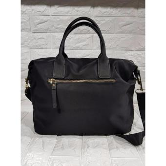 KS Lyla Nylon Tote Bag - Black - 4