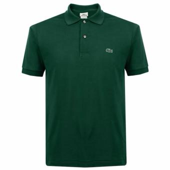 LACOSTE CLASSIC POLO SHIRT FOR MEN (MOSS GREEN)