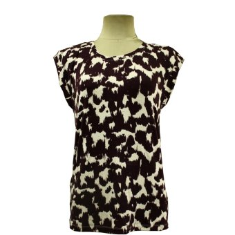 Ladies Printed Casual Arms Eye Sleeves Shirt Elora-002 (Print#05)