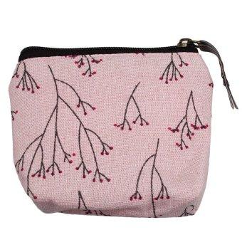 Lady Coin Case Bag Handbag Key Holder Pink - picture 2