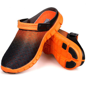 LALANG Breathable Slippers Gradient Orange Price Philippines