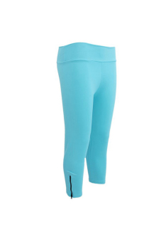 LALANG Slim Yoga Pants Blue