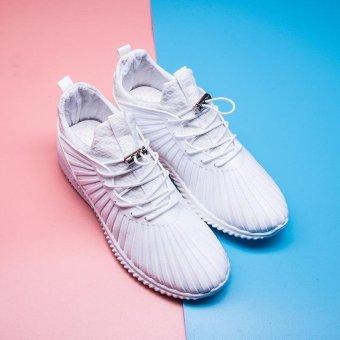 LALANG Sport Sneaker Mesh Breathable Running Shoes (White) - intl - 4