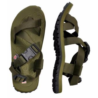 Lambat Outdoor Sandals for Women (Army Green)