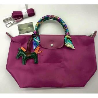 LC Le Pliage Neo Small Short Handle Free Twilly & CharmOriginal (HYDRANGEA) Made in France Longchamp Price Philippines