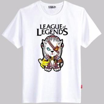 League Of Legends (3) T-Shirt (White)