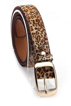 Leather Belts Strap Female Leopard Color 24