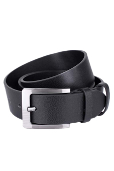 Leather Casual Belt (Black)