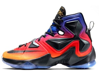 Lebron XIII 13 DB Doernbecher Basketball Shoes For Mens Purple Red- intl