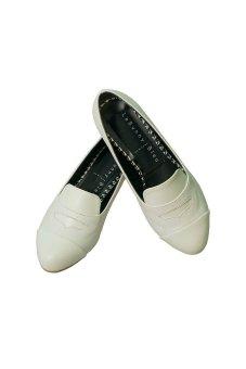 LeBunny Bleu Hannah Loafers (White)