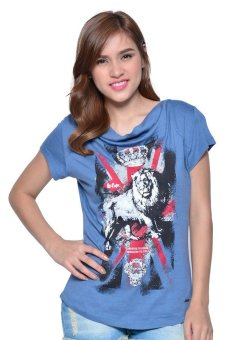 Lee Cooper Round Neck T-shirt (Blue)