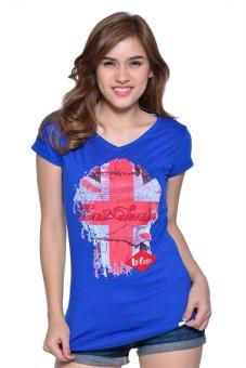 Lee Cooper Round Neck T-shirt (Indigo Blue)