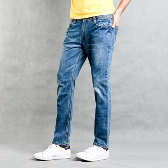 Lee Cooper Skinny Straight Pants (Blue)