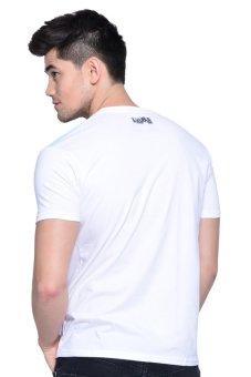 Lee Cooper Tees Round Neck T-Shirt (White) - 2