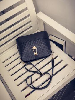 Leegoal Women Shoulder Bag Leather Handbag Satchel Messenger Bag,Black - intl - 4
