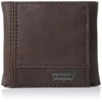 Levi's Mens Trifold Two-Tone Wallet, Brown, One Size Price Philippines