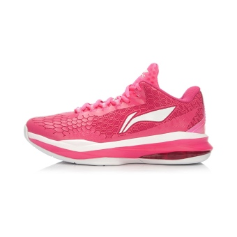 LI-NING men genuine ring bow low top sports shoes basketball shoes