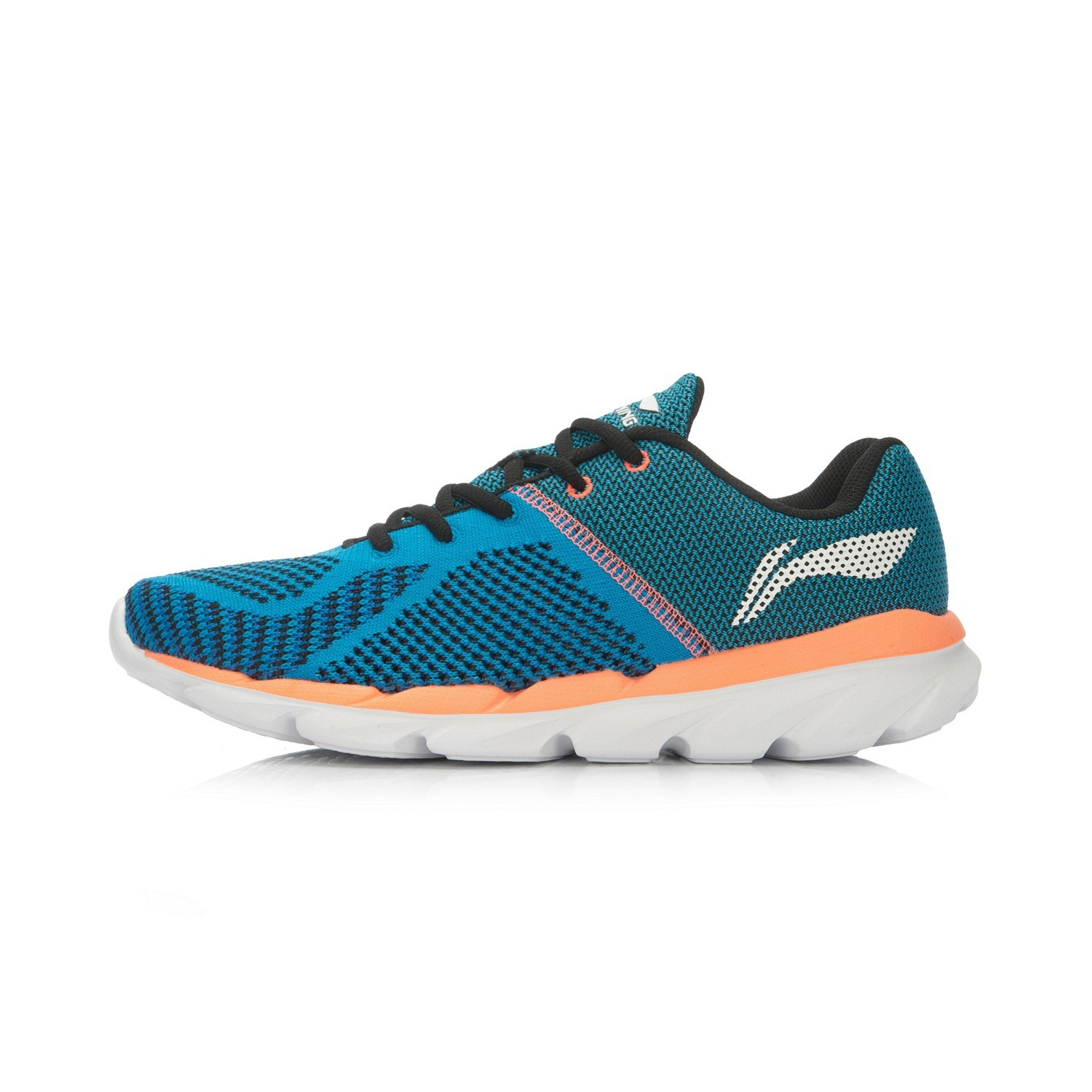 Li Ning Winter New Style Men S Damping Running Shoes Beijing Blue