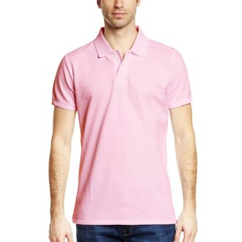 Lifeline Polo Shirt (Baby Pink)