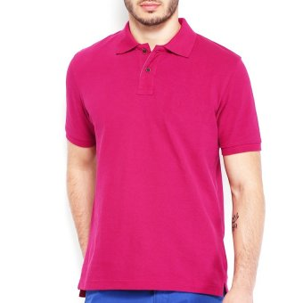 Lifeline Polo Shirt (Fuchsia)