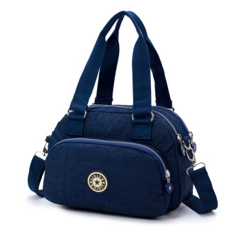 Lightweight large capacity handbag shoulder bag (Dark blue color)